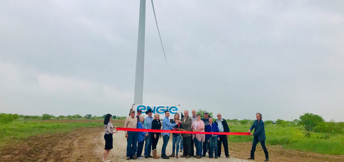 ENGIE North America's Seymour Hills Wind Project in Texas Enters Commercial Operation